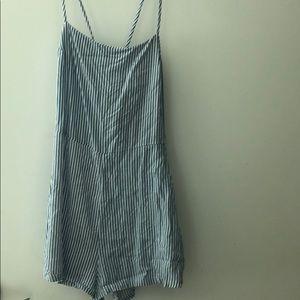 H&M Striped Playsuit